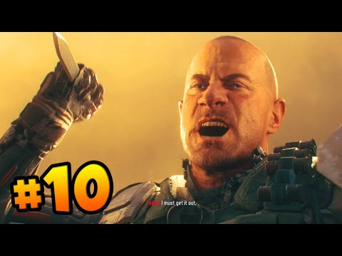 """Call of Duty BLACK OPS 3 Walkthrough (Part 10) - Campaign Mission 10 """"LOTUS TOWERS"""" (COD 2015 HD)"""