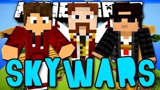 SKYWARS - QUEM É O MELHOR? (c/ Lugin e Nikki) - Minecraft