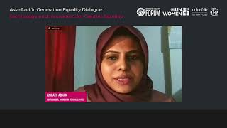 Highlights: Asia-Pacific Generation Equality Dialogue: Technology and Innovation for Gender Equality