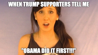 When Trump supporters tell me