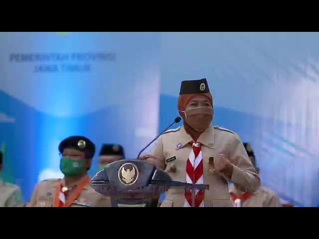 Pembukaan East Java Green Scout Invation 2020