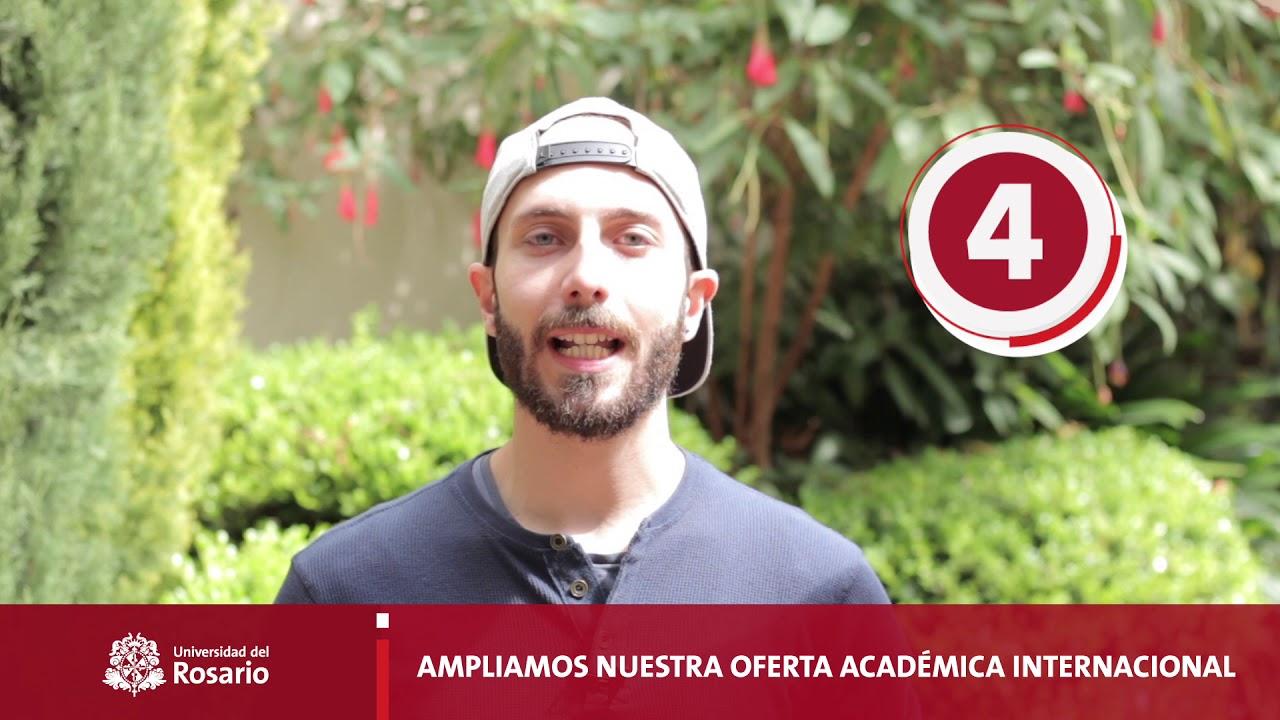 Top 5 de las transformaciones internacionales de la Universidad del Rosario | Todos por la A