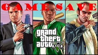 Grand Theft Auto V Game Save install 100% Ausführlich #013