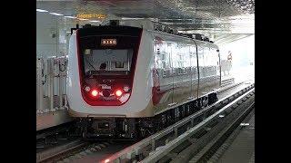 Naik Kereta LRT Jakarta Setelah Beroperasi Penuh Berbayar