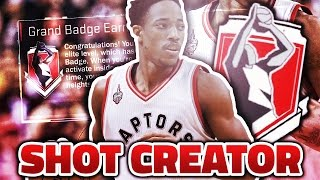 how to get shot creator grand badge updated fastest way after patch 12 nba 2k17
