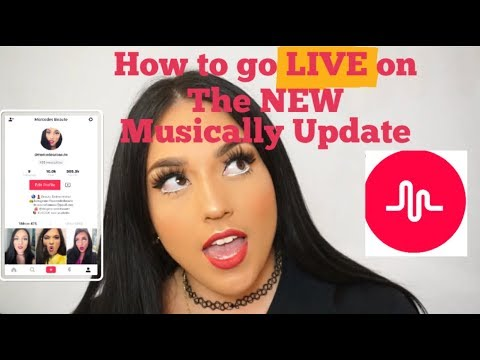 How to go LIVE on the new MUSICALLY Update