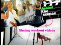 Behind the Scenes Filming Fitness  Workout Videos