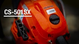 ECHO CS-501SX Chainsaw - see it in action.