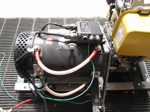 Inverter Generator Alternator Niehoff 28 VDC 400 amps (www.milgens.com)