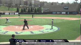 Xavier Baseball 5 Villanova 0 Highlights