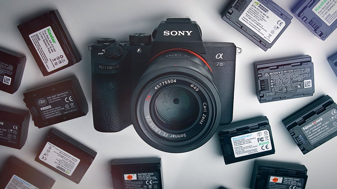 Best Sony A7III Batteries