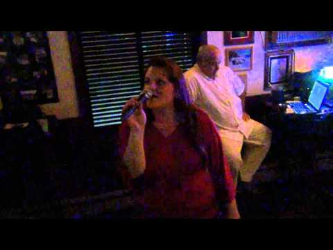 Julia Rae's Karaoke night ~ 133 Club ~ East Prov., RI ~ 20Aug'14