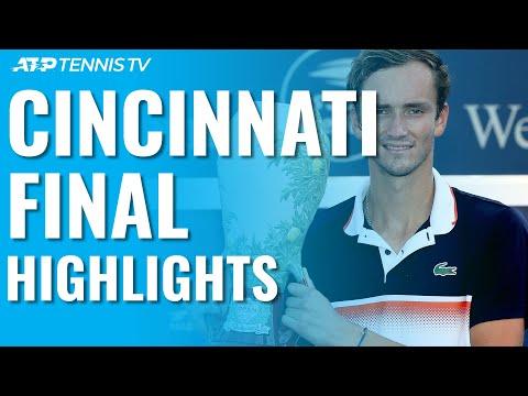 Daniil Medvedev Beats Goffin, Wins First Masters 1000 Title!   Cincinnati 2019 Final Highlights