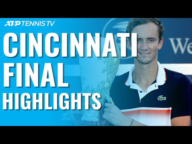 Daniil Medvedev Beats Goffin, Wins First Masters 1000 Title! | Cincinnati 2019 Final Highlights