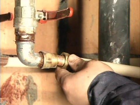 видео: Прокладка водопровода своими руками. Обучение