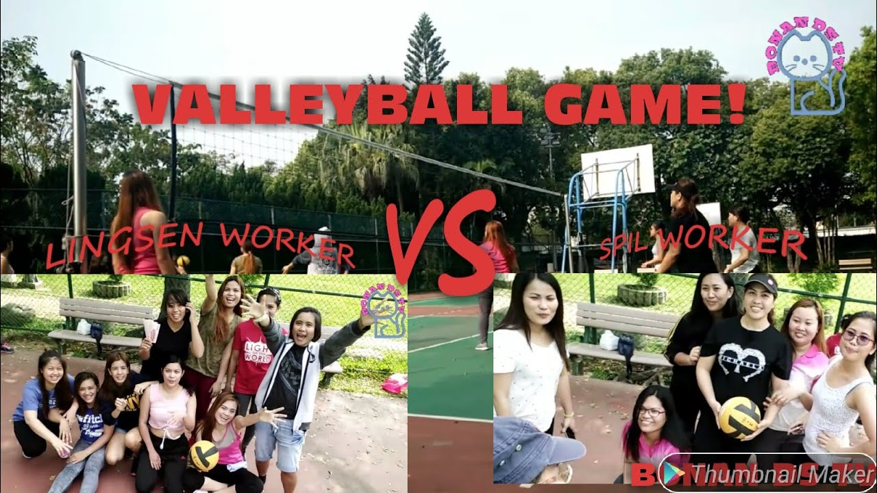 LABAN PA MORE! LINGSEN WORKER VS SPIL WORKER.#sports#valleyball#taiwan
