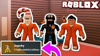 1 COP VS 2 CRIMINALS CHALLENGE!! (Roblox Jailbreak)