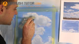 How to Airbrush Clouds cont'd