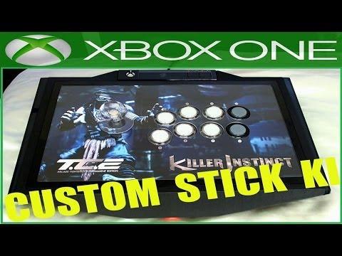 Killer Instinct Tournament Edition 2 Mad Catz Stick Fighting Modding Custom  Sanwa Buttons Artwork