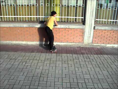 Skateboarding Skopje