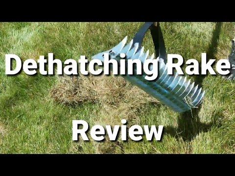 Thatch Rake Review.  Power Rake Or Thatch Rake?  De-thatching Your Lawn?