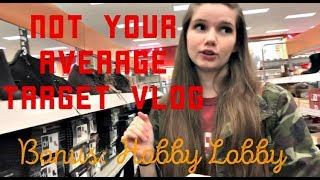 Not Your Average Target Vlog