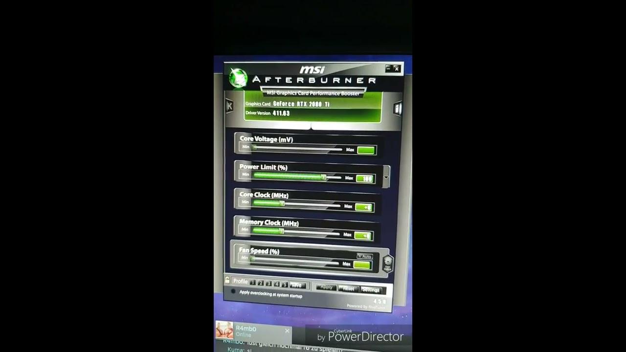 New Zotac RTX 2080 TI flickering