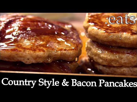 Country Style Pancakes and Bacon Pancakes - Chef Michael Smith Recipes
