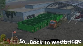 Farming Simulator 15 XBOX One So Back to Westbridge Hills Episode 27