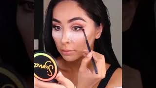 Glam Look For Begginers! Fresh Face Natural Makeup Tutorial #1