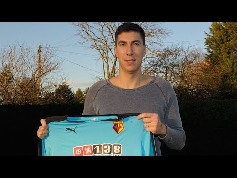 PLAYER CAM: Costel Pantilimon In Watford Training