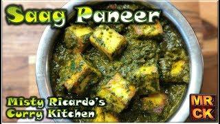 Saag Paneer (restaurant Style)