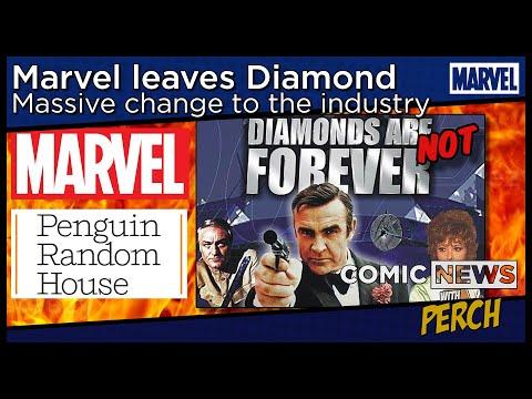 Marvel leaves Diamond, goes to Penguin Random House