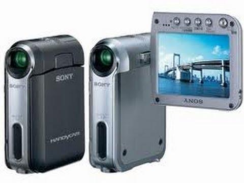 Sony DCR-PC55 - world's smallest MiniDV tape camcorder