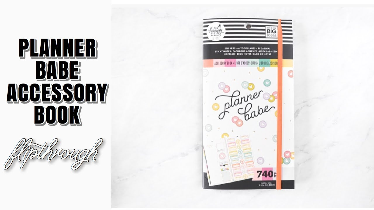 Happy Planner Accessory Book Planner Babe