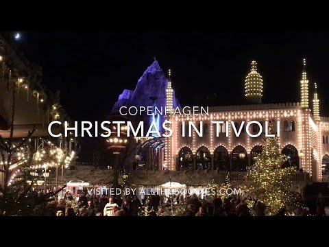 Christmas in Tivoli, Copenhagen | allthegoodies.com