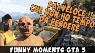 TBlackGame & En3rgY - GTA 5 Funny Moments - ''Dai Veloce!! Che non ho tempo da perdere''