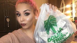 Dollar tree makeup challenge