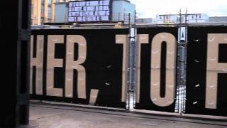 Video Barbara Kruger plastered this art in Lower Manhattan. download MP3, 3GP, MP4, WEBM, AVI, FLV Juni 2018
