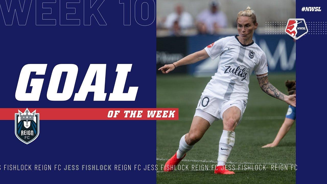 Jess Fishlock, Reign FC | Week 10 #NWSL Goal of the Week