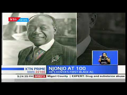 NJONJO AT 100: The intriguing story of Kenya\'s first Attorney General Charles Njonjo