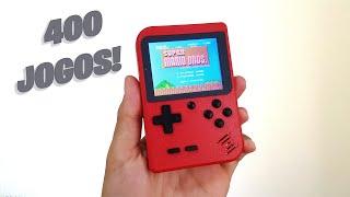 Mini Game Retro 400 jogos!