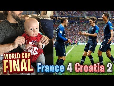 FRANCE vs CROATIA - WORLD CUP FINAL - LIVE REACTION!!