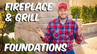 Build With Roman - How to Install a Foundation for Features and Fireplaces