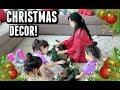 DECORATING OUR CHRISTMAS LIVING ROOM! - November 12, 2017 - ItsJudysLife Vlogs