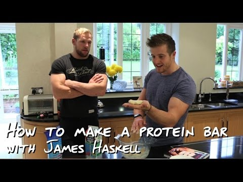 How to make a protein bar with James Haskell