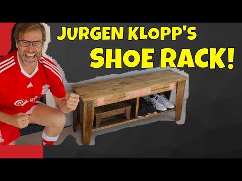 Jurgen Klopp Does DIY!! How to Build a Shoe Rack.