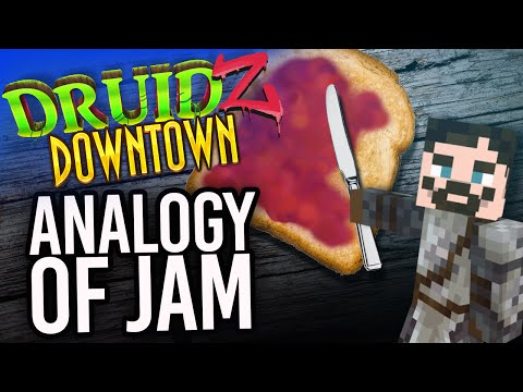 Minecraft Druidz Downtown #34 - Analogy of Jam