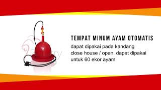 Tempat Minum Ayam Otomatis - TMAO - Alat ternak ayam - UD Inti Mustika