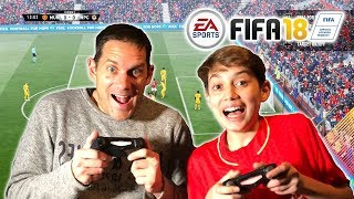 Fifa 18 Father Vs Son - Forfeit Challenge